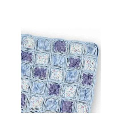 Kocyk patchworkowy 85x95 Pebble