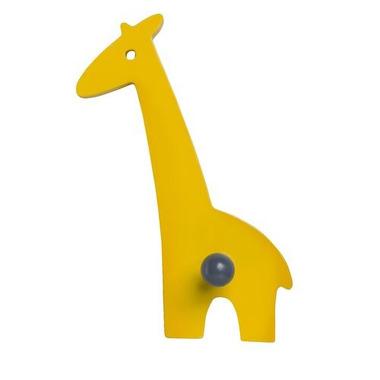 Franck & Fischer Wieszak Żyrafa żółty