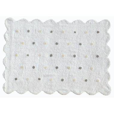 Dywan do prania w pralce Galleta biały
