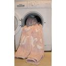 Dywan do prania w pralce  Abc różowy