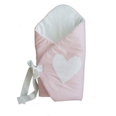 Rożek niemowlęcy Kropeczki Serce Effii