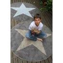 Dywan Lorena Canals Dwustronny  Star  Linen-Dark Grey