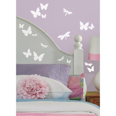 RoomMates, naklejki wielokrotnego użytku - motyle