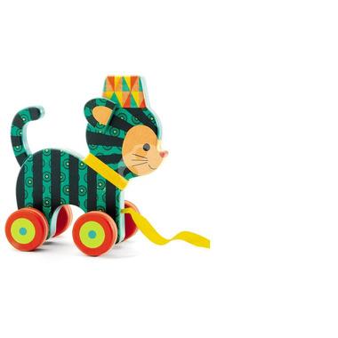 Djeco, zabawka drewniana do ciągania