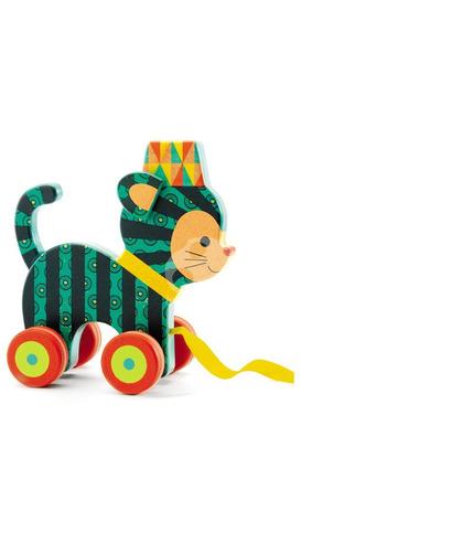Zabawka drewniana do ciągania Djeco