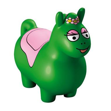 Skoczek Barbapapa - gumowy skoczek - zielony