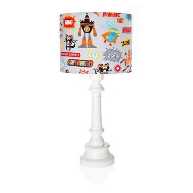 Lampka Superbohaterowie z podstawką okrągłą Lamps&Co