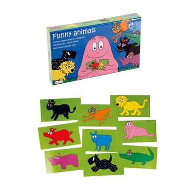 Kolorowe puzzle Barbapapa