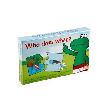 Frog & Friends - Kto co robi?
