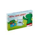 Frog & Friends do nauki gry - Kto co robi?