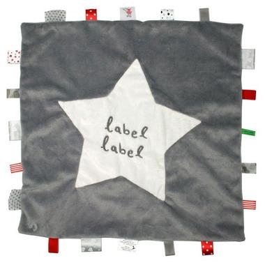 Stars Kocyk przytulanka XXL Grey/White METKI