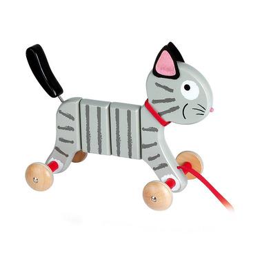 Janod, zwariowany kotek do ciągnięcia