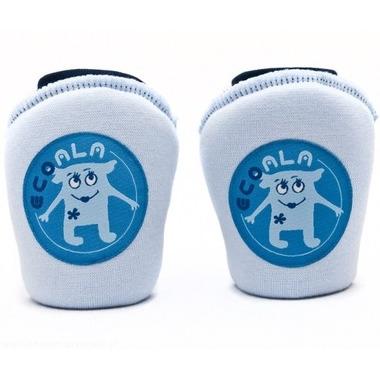 Nakolanniki do raczkowania Little Monsters niebieskie