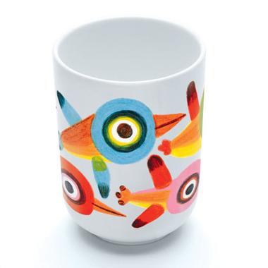 Djeco, kubek porcelanowy Ptaszki