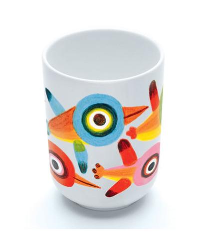 Kubek porcelanowy Ptaki Djeco