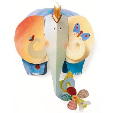 Djeco, dekoracja ścienna - Słoń