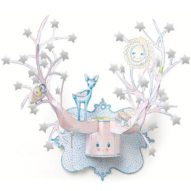 Djeco, dekoracja ścienna - Gwiazdka