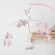 Tiamo-Miffy, miffy Karuzela do łóżeczka Safari Róż
