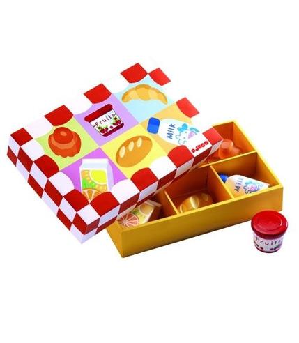 Drewniany zestaw śniadaniowy Djeco