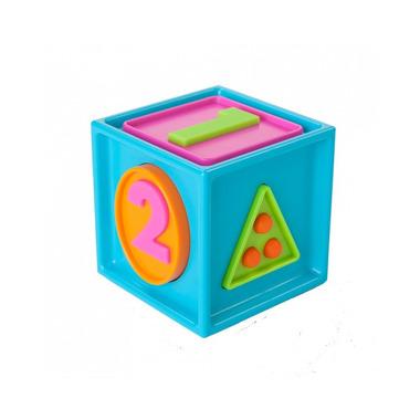 Fat Brain Toy, Sześcian Mądrali 1-2-3. Smarty Cube.