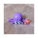 Fat Brain Toy, Wesoła Kałamarnica Zabawka do Ciągnięcia Inky