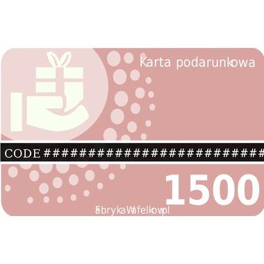Karta podarunkowa 1500