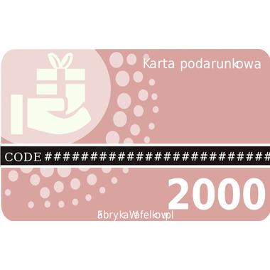 Karta podarunkowa 2000