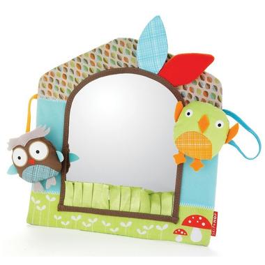 Skip Hop, zabawka bezpieczne lusterko Sowa