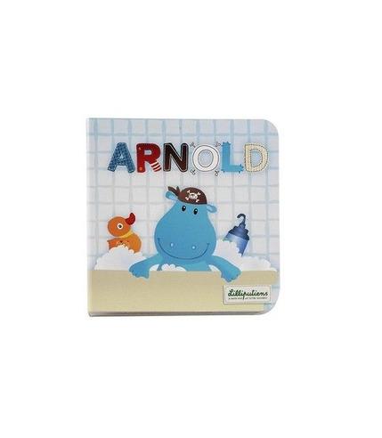 Lilliputiens, mała książeczka Hipopotam Arnold idzie spać