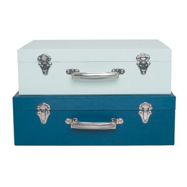 JaBaDaBaDo, walizka niebieska komplet 2szt