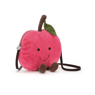 Jellycat, Amuse wisienka torebka na ramię 24cm