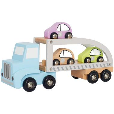 JaBaDaBaDo, Drewniana laweta z 3 autami