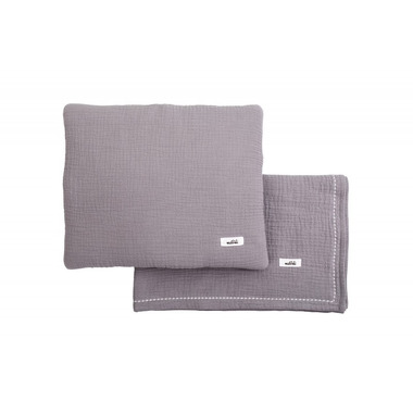 Malomi Kids, MUSLIN SET GREY S