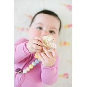 LouLou Lollipop, gryzak silikonowy Ice Cream truskawka