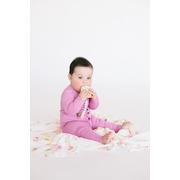 LouLou Lollipop, gryzak silikonowy z zawieszką Unicorn Donut pink