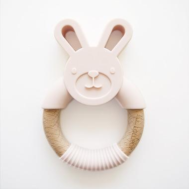 LouLou Lollipop, Gryzak króliczek blush pink