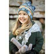 Elodie Details, Czapka Zimowa - Gilded Everest Feathers 2-3y