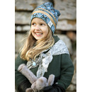 Elodie Details, Czapka Zimowa - Gilded Everest Feathers 6-12m