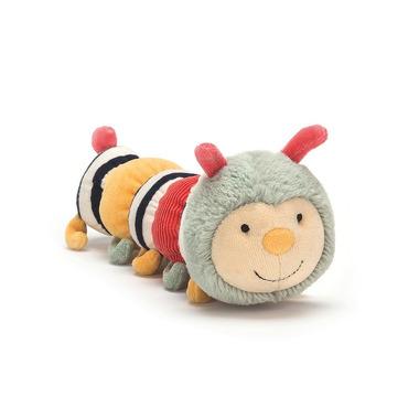 Jellycat, Doodlebug gąsienica grzechotka 27cm