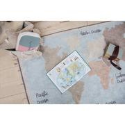 Lorena Canals, Dywan Bawełniany Vintage Map