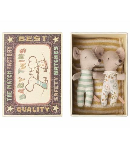 Maileg, Myszki w pudełku - bliźniaki