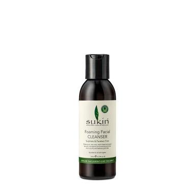 Sukin, Oczyszczający żel do mycia twarzy Foaming Facial Cleanser, 125ml