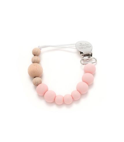 LouLou Lollipop, zawieszka Color Block Delicate Pink