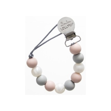 LouLou Lollipop, zawieszka Color Block Rose Gray