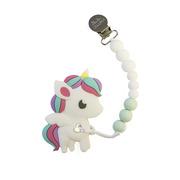 LouLou Lollipop, gryzak silikonowy Rainbow Unicorn