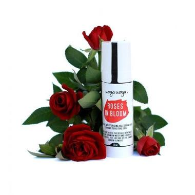 Uoga Uoga, Nawilżający krem Roses in Bloom do skóry suchej i wrażliwej, 30ml