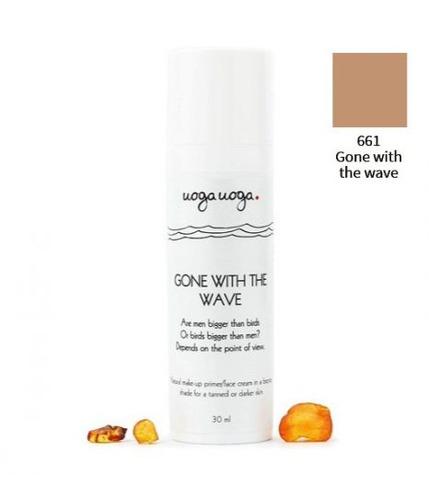 Uoga Uoga, Naturalny nawilżający krem BB, Gone with the Wave, 30ml