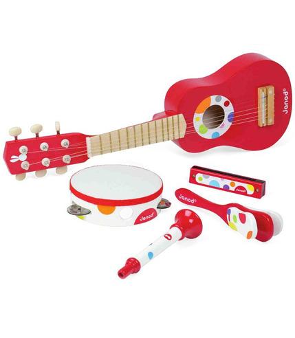 Zestaw muzyczny 5 elementów Janod
