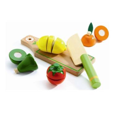 Djeco, drewniane warzywa do krojenia