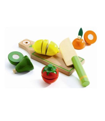 Drewniane warzywa do krojenia